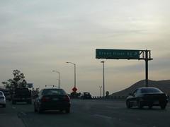 CA 91 Riverside Freeway Westbound in Corona at Green River Rd (bigmikelakers) Tags: ca riverside corona freeway westbound 91