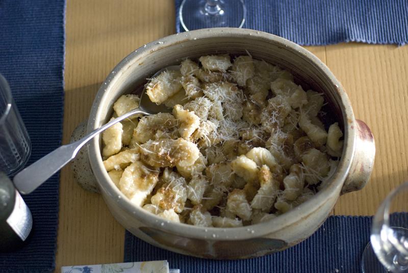 gnocchi in bowl