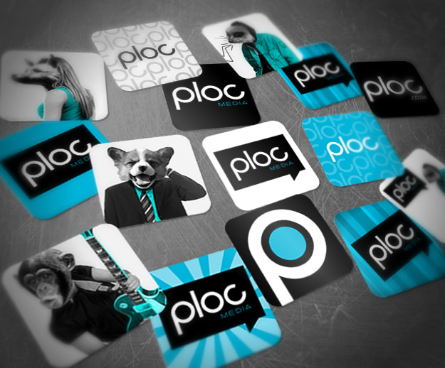 Ploc Media Stickers