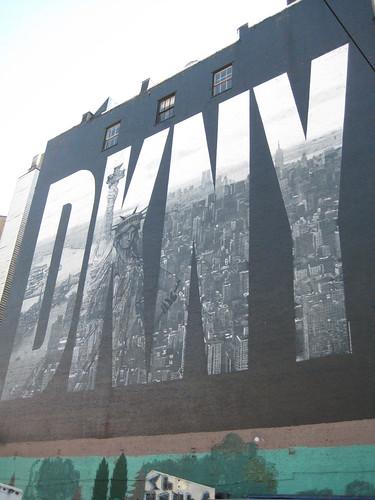 DKNY sign