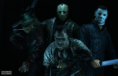 Jason, Freddy, Micheal, & Leatherface