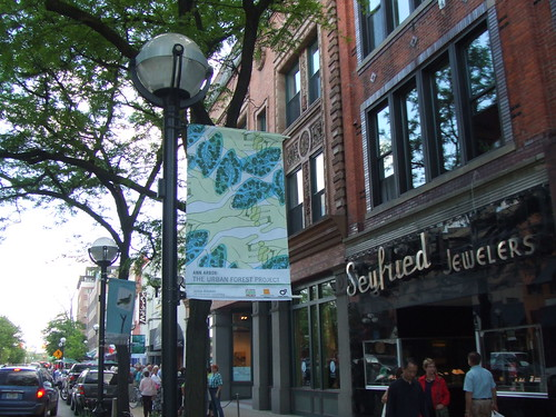 AIGA Urban Forest banner by James Alleman