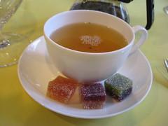 Pierre Hermé: First flush darjeeling and Assortment of pâtes de fruits - Satine, Montebello, Ispahan