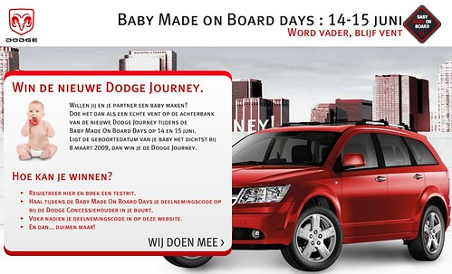 Dodge: baby made on board