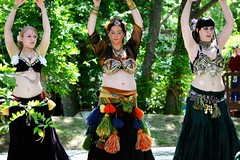 Once, Twice, Three Times a Lady (Mr. Photo) Tags: bellydancer renaissancefair canon70200f28l canon7020028is canon40d oklahomarenaissancefestival castlemuskogee