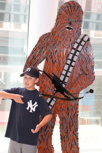 blake and lego chewie
