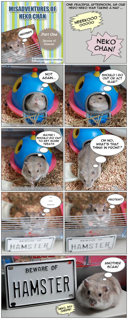 Hamster Hideout Comic: Misadventures of Neko Chan