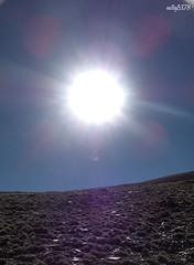 A sunny day (Elenica~) Tags: sun mountain snow sol nieve nevada andalucia sierra granada montaa sierranevada fiatlux elenalr