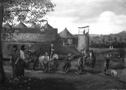 Celebración do primeiro de novembro (samain) no castro de vilasuso