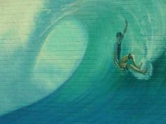 Arte Urbano - Urban Art (Ignacio Lpez de Silanes) Tags: pared graffiti surf arte urbano ola