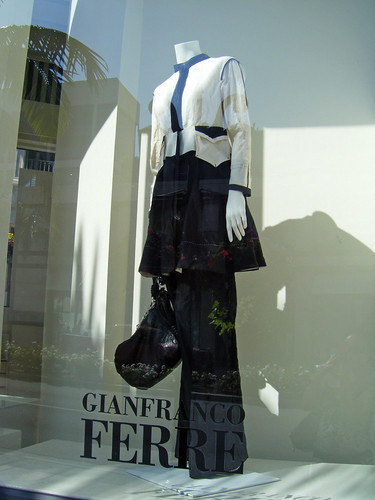 Gianfranco Ferre Window Display