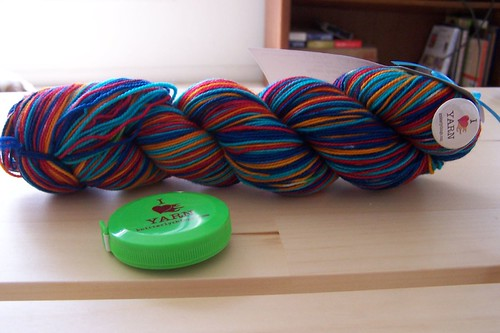 Vesper Sock Yarn Club, June 2008