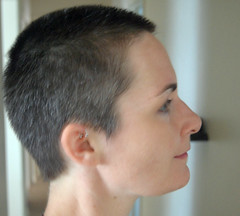 haircut after.jpg (galendara) Tags: haircut hair buzz bald shorthair buzzcut hairstyles butch baldwomen buzzedwomen shorthairedwomen
