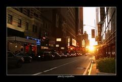 New York  Manhattanhenge (AQTran) Tags: newyork andy manhattan tran manhattanhenge andytran andykathleen