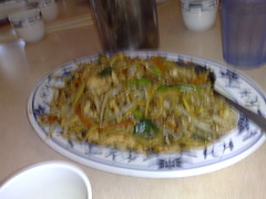 Chicken Lo Mein at Joes Noodle house Rockville