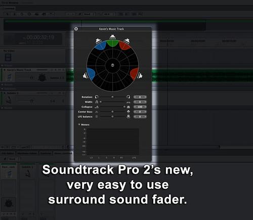 Soundtrack Pro 2 - Surround Sound Mixing