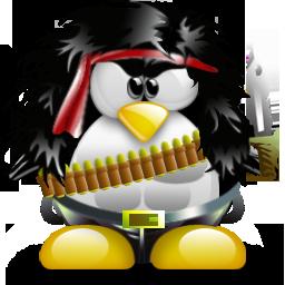 Rambo Tux