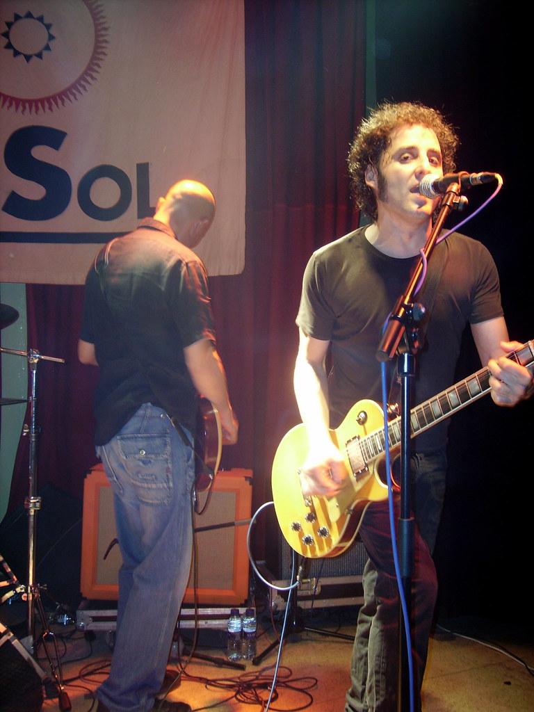 LAGARTIJA NICK + RATIO, 01 de julio de 2008, El Sol, Madrid