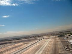 Las Vegas airport runway