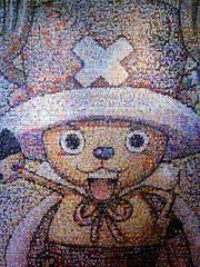 Japan Expo 2008 - Mosaïque Tony Tony Chopper (One Piece)