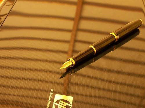 万年筆買った
