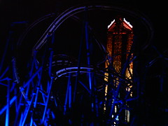 portegist and scream (Joshua Newell) Tags: texas fiesta nightime scream