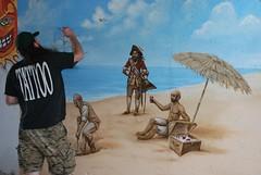 DSC_0762 (Kurt Christensen) Tags: art beach painting mural surf thrust gilgobeach gilgo