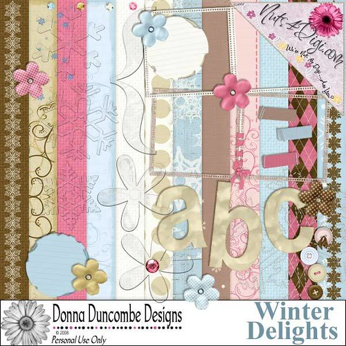 Winter Delights - Donna Duncombe Designs