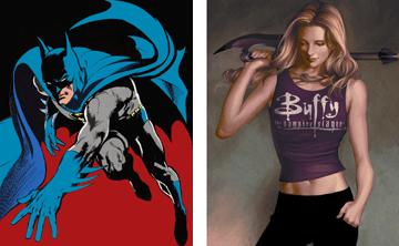 batman vs buffy