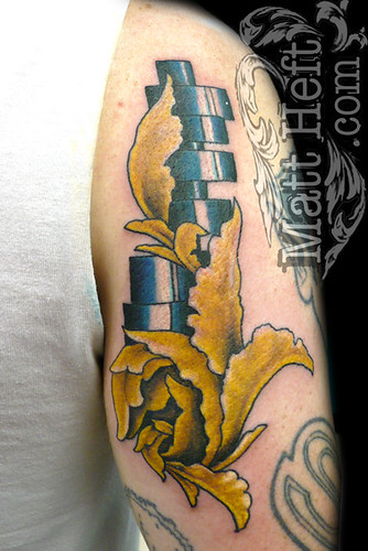 Cam Shaft by Matt Heft - Custom Tattoos Fine Art