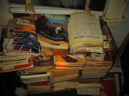 Old electronics magazines