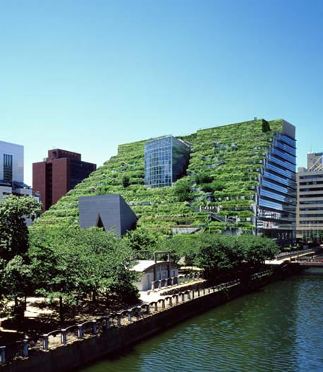 ACROS Fukuoka - the green roof building