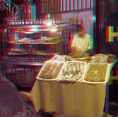 Kabab Man_Anaglyph 3D: You need Red/Cyan glasses (Shahrokh Dabiri) Tags: persian 3d iran picture anaglyph meat stereo butcher iranian resturant tehran ethnic kebab darband depth stereography kabab shahrokh appetite sterography stereopicture 3dpicture northoftehran dabiri