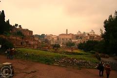 Meravigliosa Roma (BigioBio) Tags: sunset italy panorama rome roma clouds landscape ruins italia tramonto nuvole postcard tourist archeology foriimperiali romanforum paesaggio cartolina turista rovine archeologia foriromani
