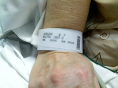 10:01 AM - Lovely Bracelet for ID During Colon...
