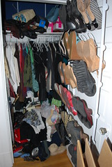 Closet Cleaning: Mine Before