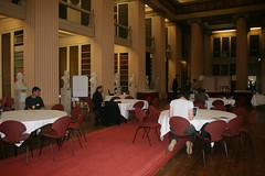 Morning coffee and mail (repofringe) Tags: edinburgh conference jisc repository repofringe08
