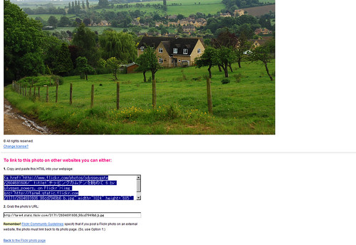 Flickr Code