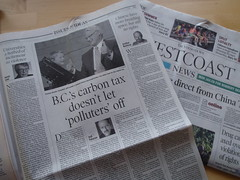 Across our desk: B.C.'s carbon tax doesn't let...
