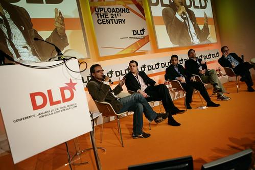 Bild zu: DLD 2009 mit Kahneman, Taleb, Vogels, Drummond, Mayer und Huffington