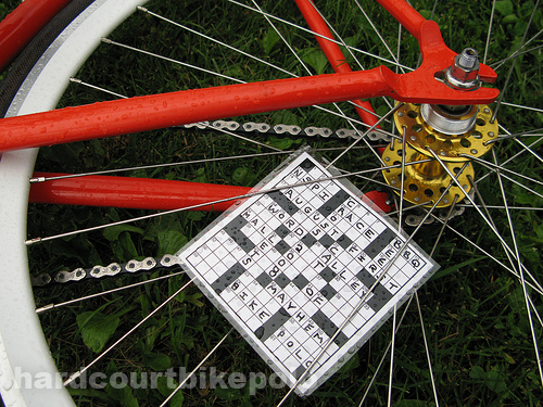 NSPI bike polo 2008 crossword spokecard