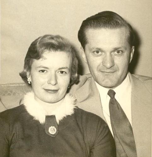 Lorraine Chciuk and Henry Kaminski c 1956