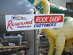 don't park here unless you came to buy a rock (alist) Tags: move alist robison alicerobison ajrobison