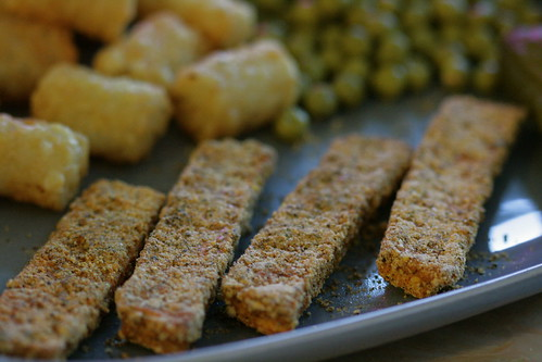 "Tofu ""fish"" sticks"