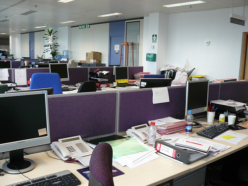 My office in BBC White City