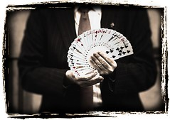 fate, luck or Sleight of hand by g_cowan, on Flickr