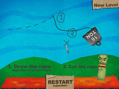 a screenshot of Knock the Monster