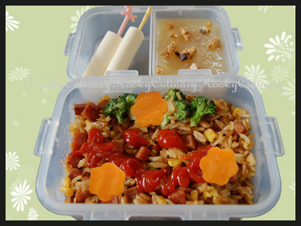 Bento #29 - Fried Rice Day