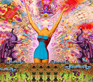 LARRY CARLSON,  Extra Dream Entities, c-print, 28x38in, 2008.