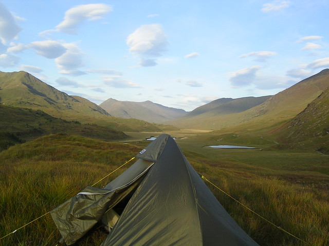 Camp spot, Glen Affric